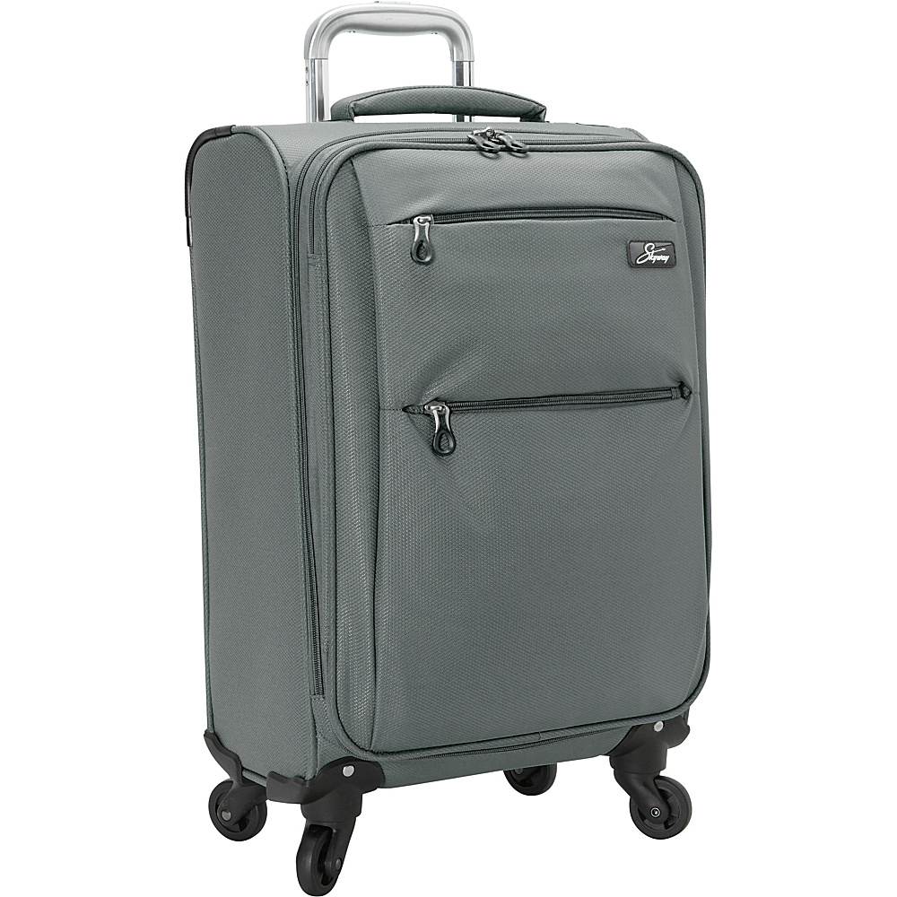 Skyway FL Air 20 4 Wheel Expandable Carry on Gray Skyway Softside Carry On
