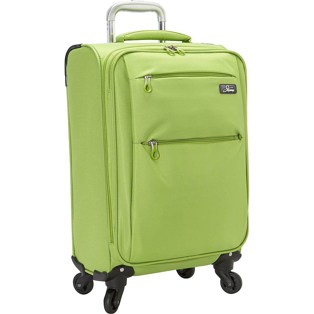 Skyway FL Air 20 4 Wheel Expandable Carry on Lime Green Skyway Softside Carry On