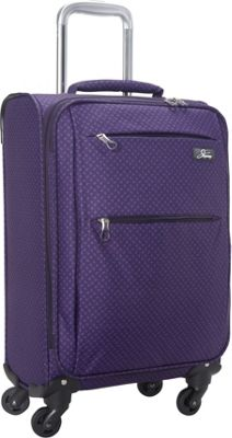 Skyway FL-Air 20 inch 4 Wheel Expandable Carry-on Royal Paisley - Skyway Softside Carry-On