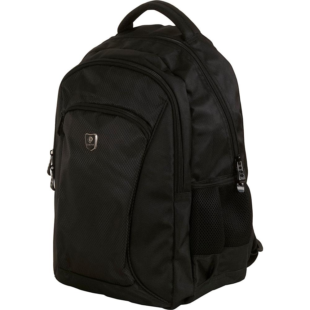 CalPak Sherman Lightweight Laptop Backpack Black - CalPak Laptop Backpacks
