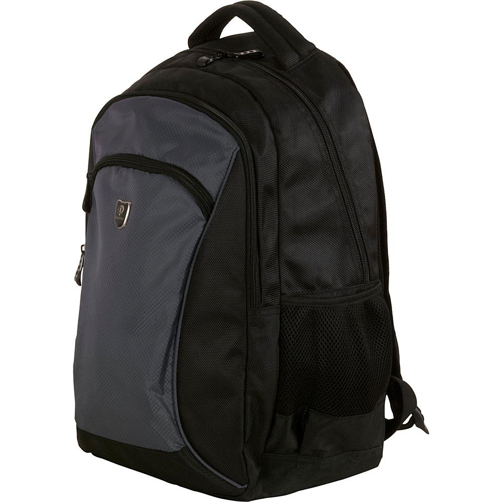 CalPak Sherman Lightweight Laptop Backpack Charcoal - CalPak Laptop Backpacks