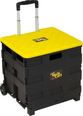 dbest products Ultra Compact Quik Cart Black - dbest products Luggage Accessories