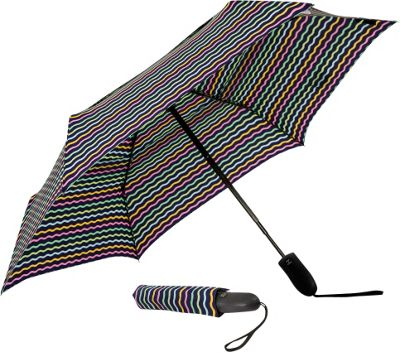 ShedRain Auto Open & Closed Vented Compact Umbrella Tippy - ShedRain Umbrellas and Rain Gear