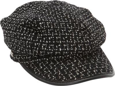 Betmar New York Caron Wool Blend Cap One Size - Black - B...