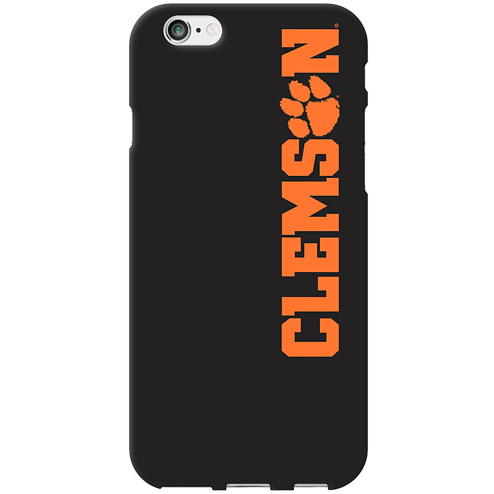 Centon Electronics Classic Black Matte iPhone 6 Case Clemson University Centon Electronics Electronic Cases