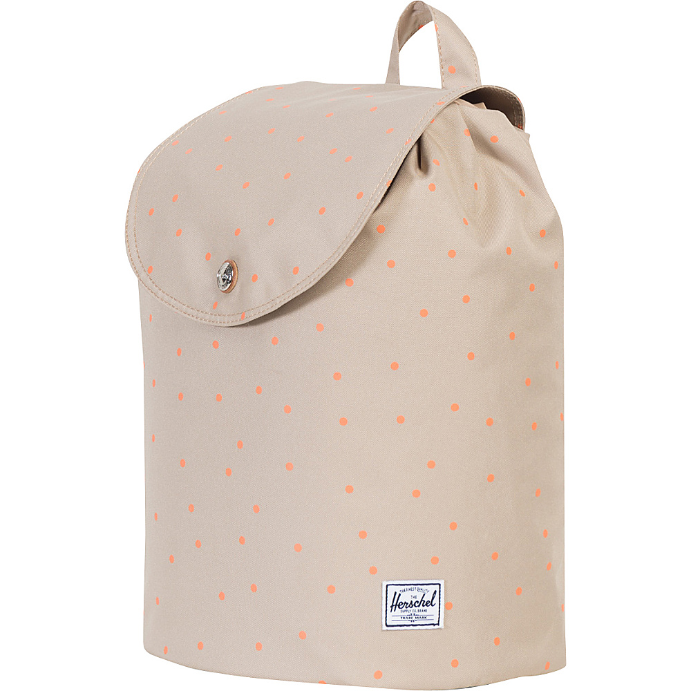 Herschel Supply Co. Women s Ware Backpack Khaki Nectarine Scatter Tan Herschel Supply Co. Everyday Backpacks