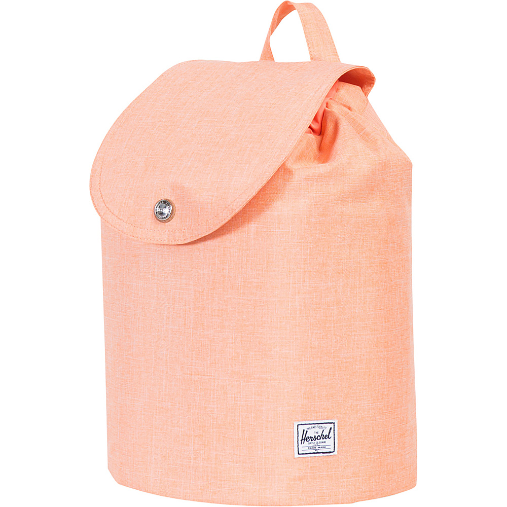 Herschel Supply Co. Women s Ware Backpack Nectarine Crosshatch Rubber Herschel Supply Co. Everyday Backpacks