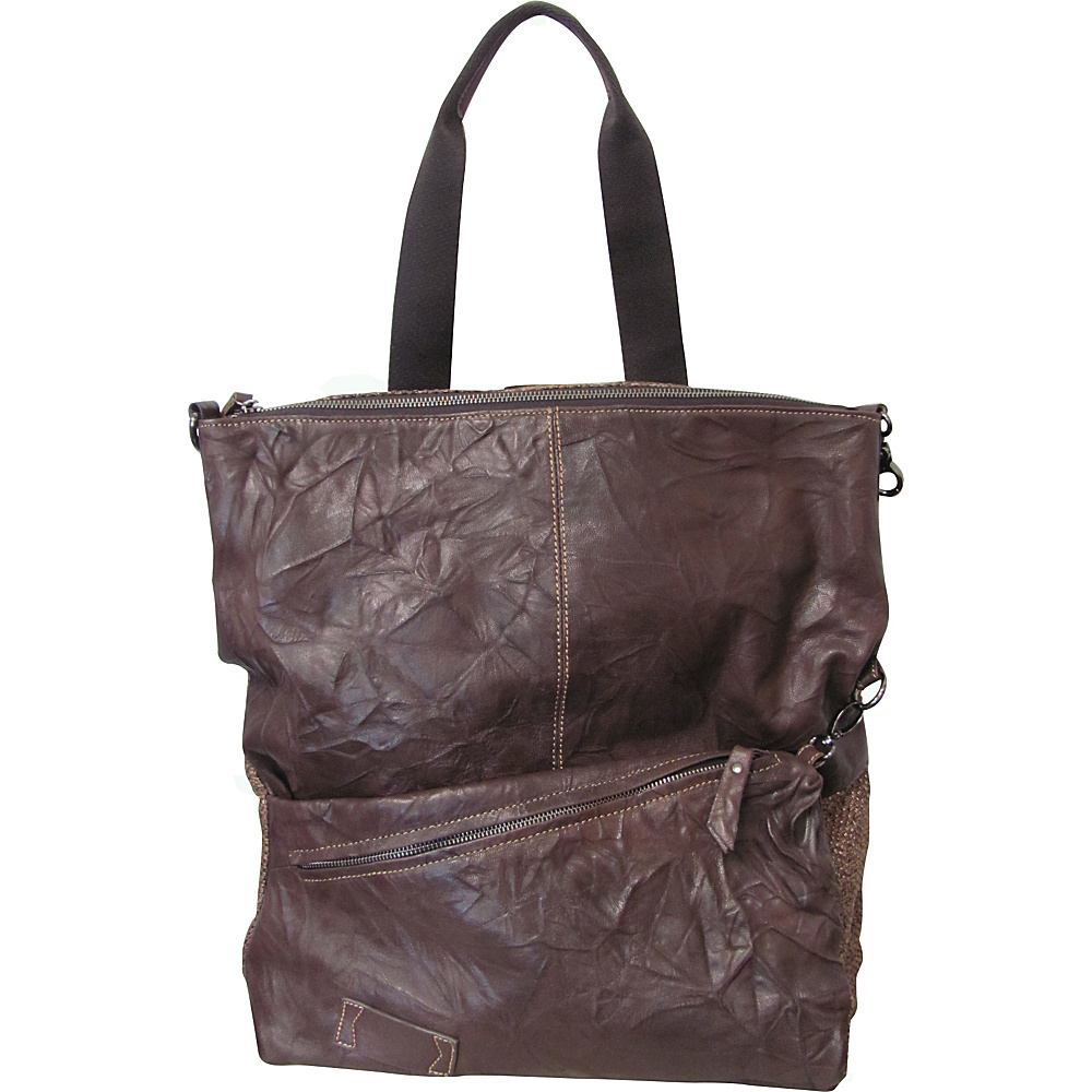 AmeriLeather Harley Multi-Function Backpack/Tote Waxy Brown - AmeriLeather Leather Handbags - Handbags, Leather Handbags