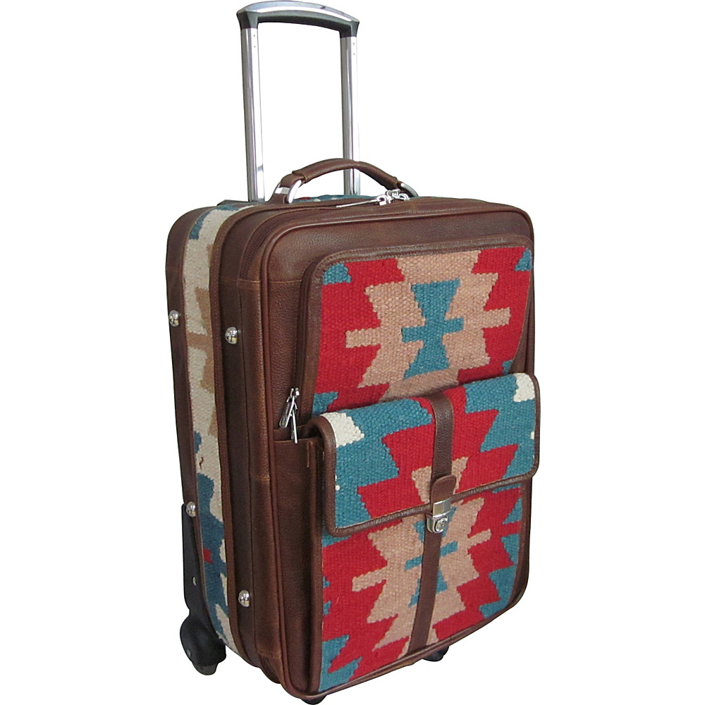 AmeriLeather Ramses 21 Wheeled Luggage Rainbow - AmeriLeather Softside Carry-On - Luggage, Softside Carry-On