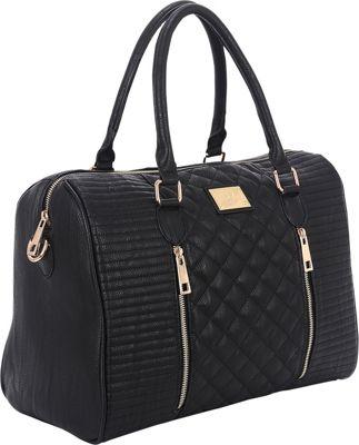 Sandy Lisa Siena Quilted Tote Black - Sandy Lisa Women's Business Bags