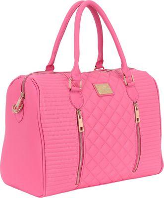 Sandy Lisa Siena Quilted Tote Pink - Sandy Lisa Women's Business Bags