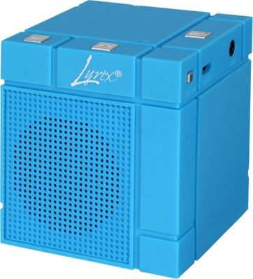 Lyrix MIXX Wireless Bluetooth Speaker Blue - Lyrix Headphones & Speakers