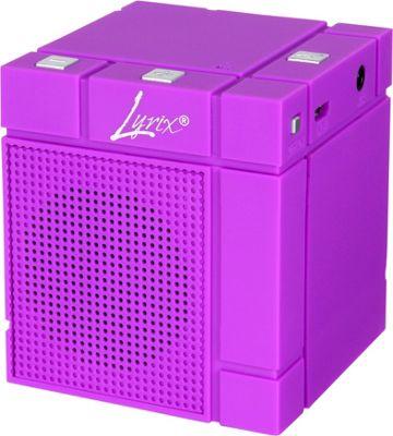 Lyrix MIXX Wireless Bluetooth Speaker Purple - Lyrix Headphones & Speakers