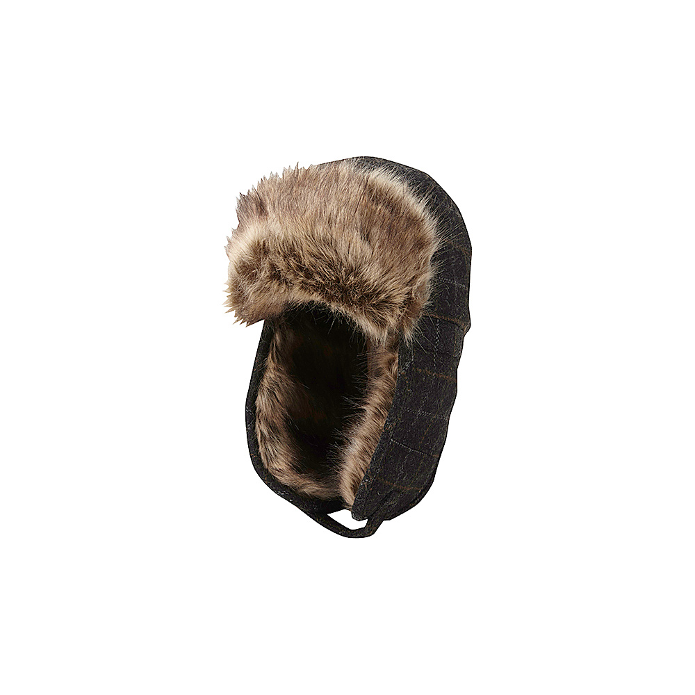 Ben Sherman Wind Pan Wool Trap Hat Jet Black Large Extra Large Ben Sherman Hats Gloves Scarves