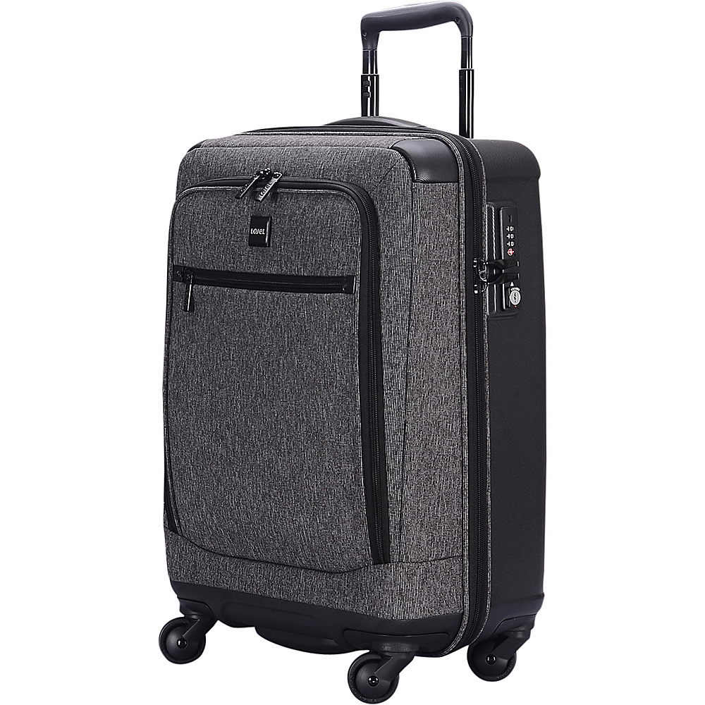Lojel Exos III Hybrid Carry On Gray Lojel Hardside Carry On