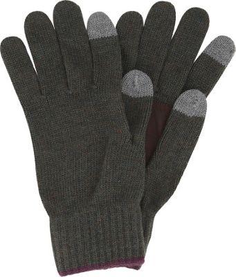 Original Penguin Bordwell Knit Gloves Rifle Green - Original Penguin Gloves