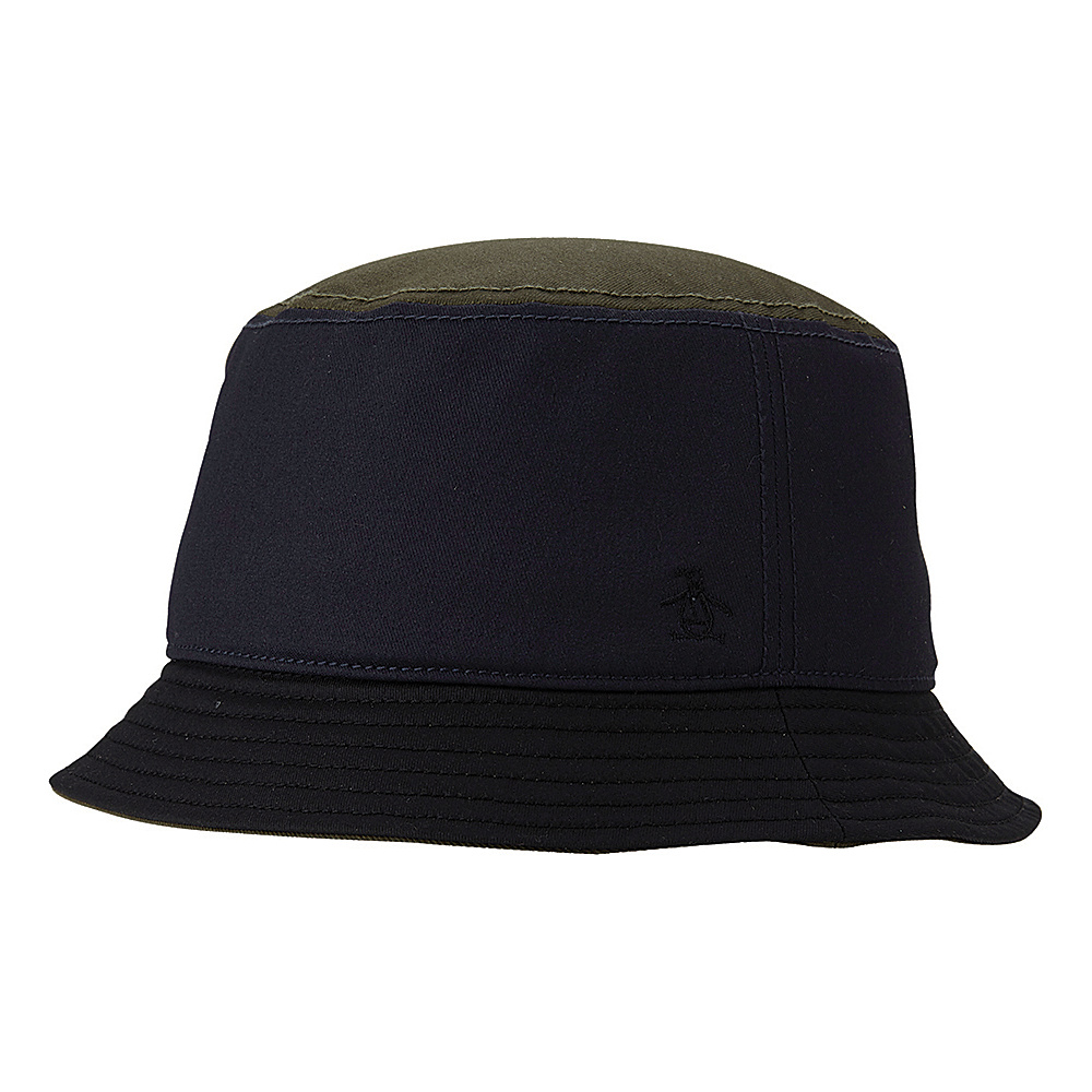 Original Penguin Hershel Bucket Hat Dark Sapphire Small Medium Original Penguin Hats Gloves Scarves