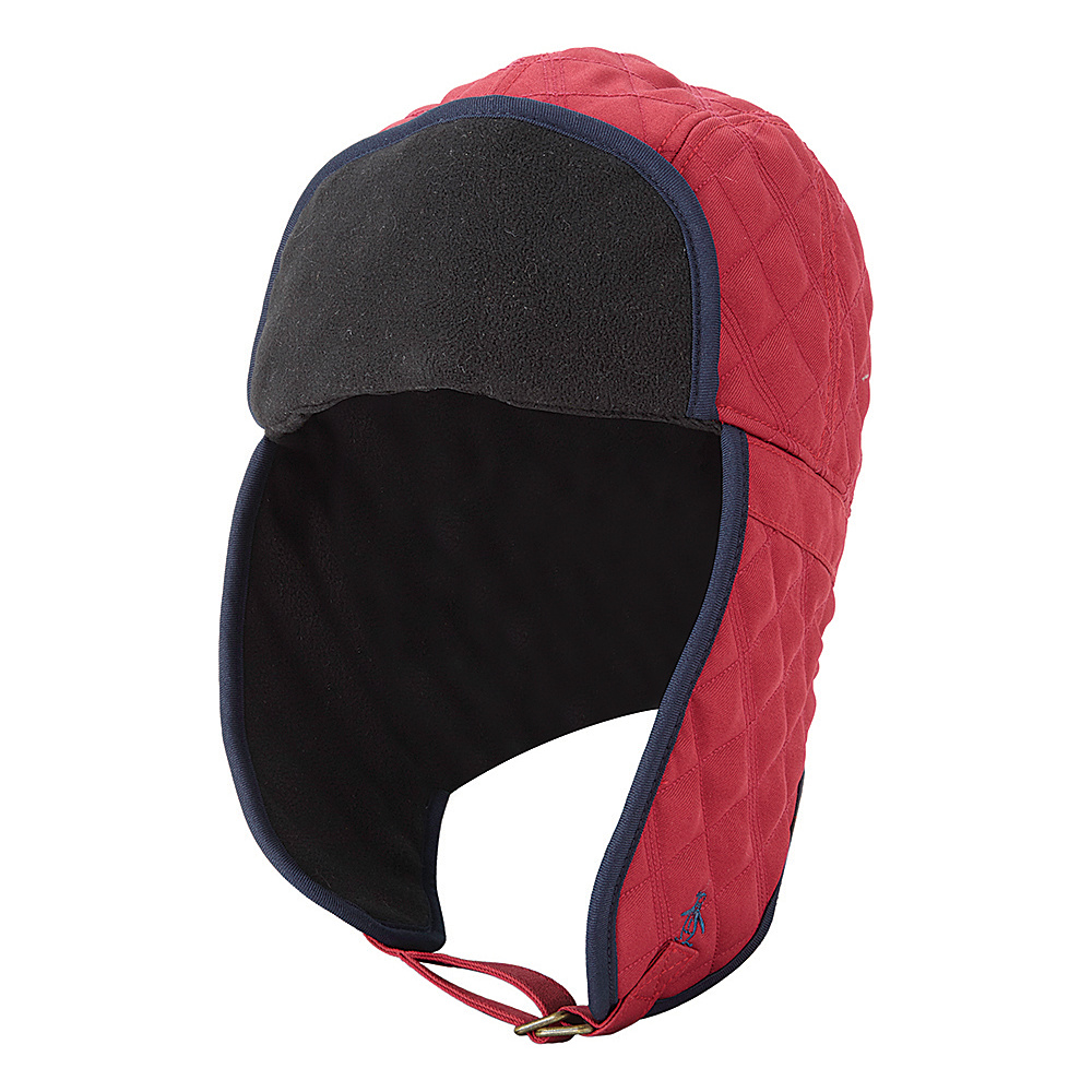 Original Penguin Noah Trapper Hat S/M - Rosewood - Original Penguin Hats/Gloves/Scarves