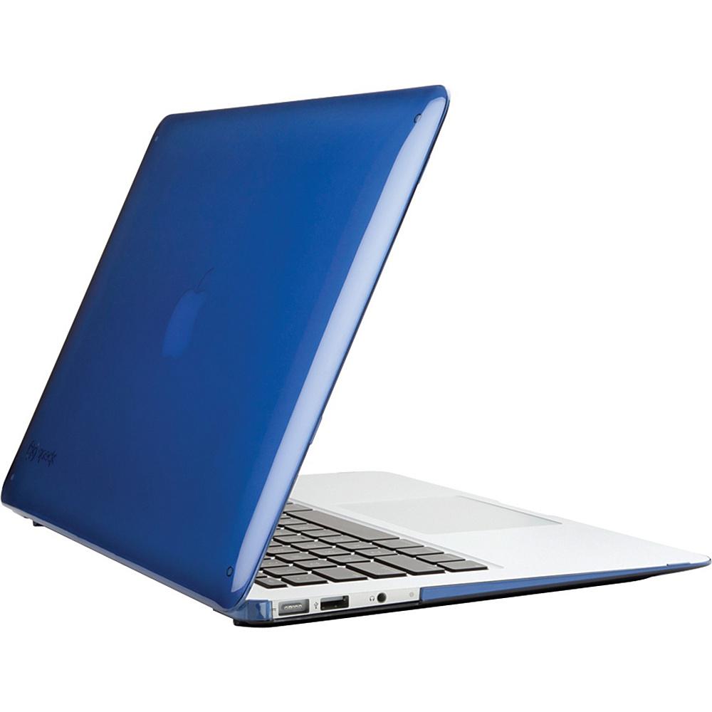 Speck 13 MacBook Air Seethru Case Cobalt Blue Speck Non Wheeled Business Cases