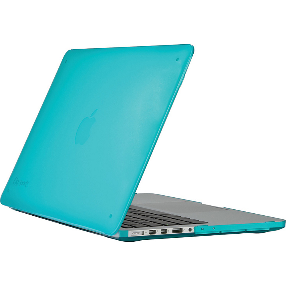 Speck 13 MacBook Pro With Retina Display Seethru Case Calypso Blue Speck Non Wheeled Business Cases