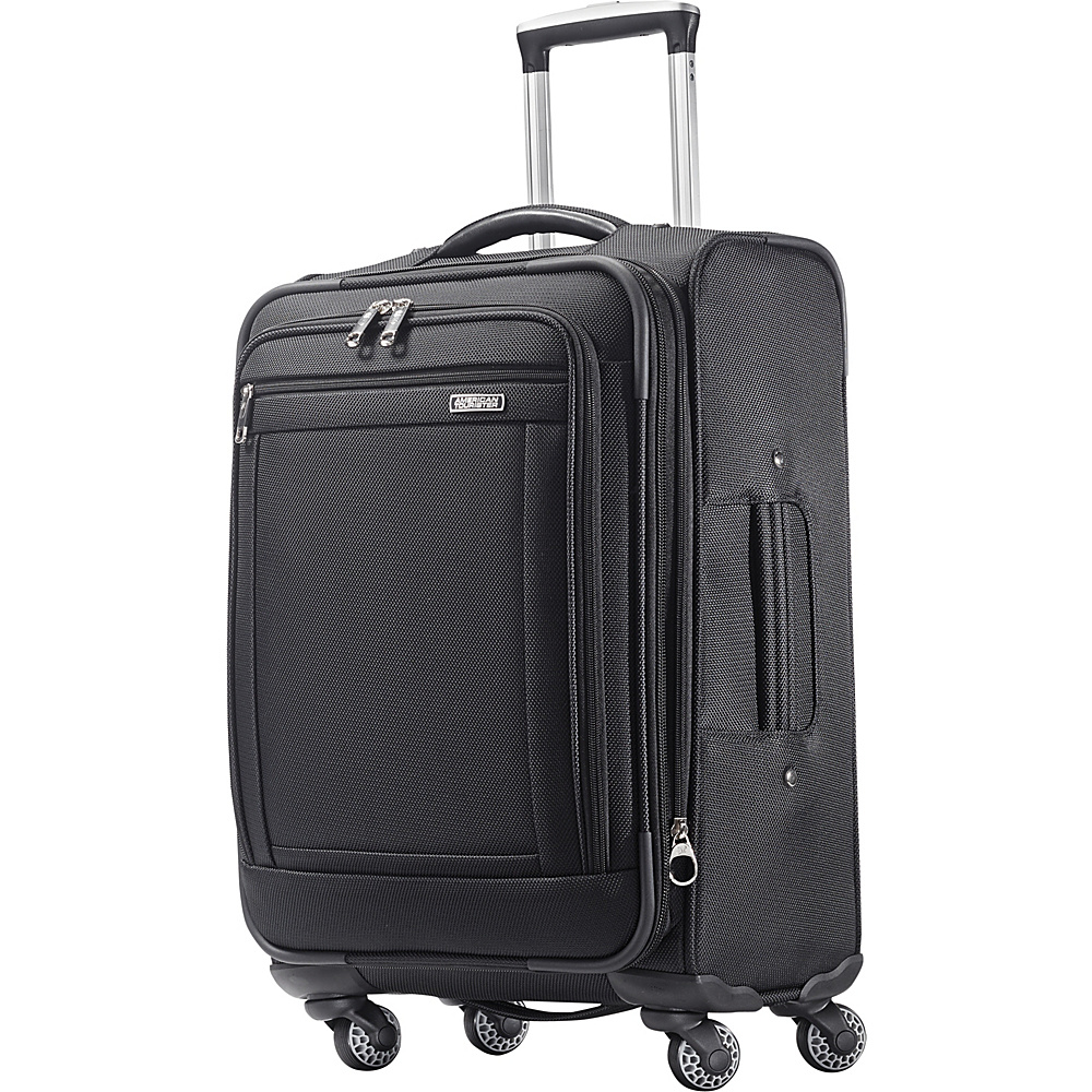 American Tourister Triumph 21 Spinner Black American Tourister Softside Carry On