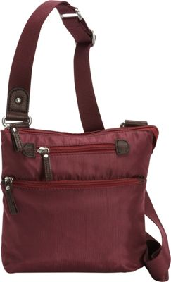 Osgoode Marley Small Crossbody Cranberry - Osgoode Marley Fabric Handbags
