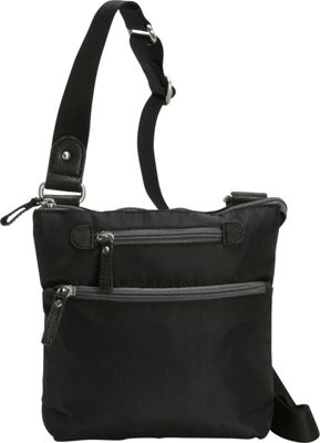 Osgoode Marley Osgoode Marley Small Crossbody Black - Osgoode Marley Fabric Handbags