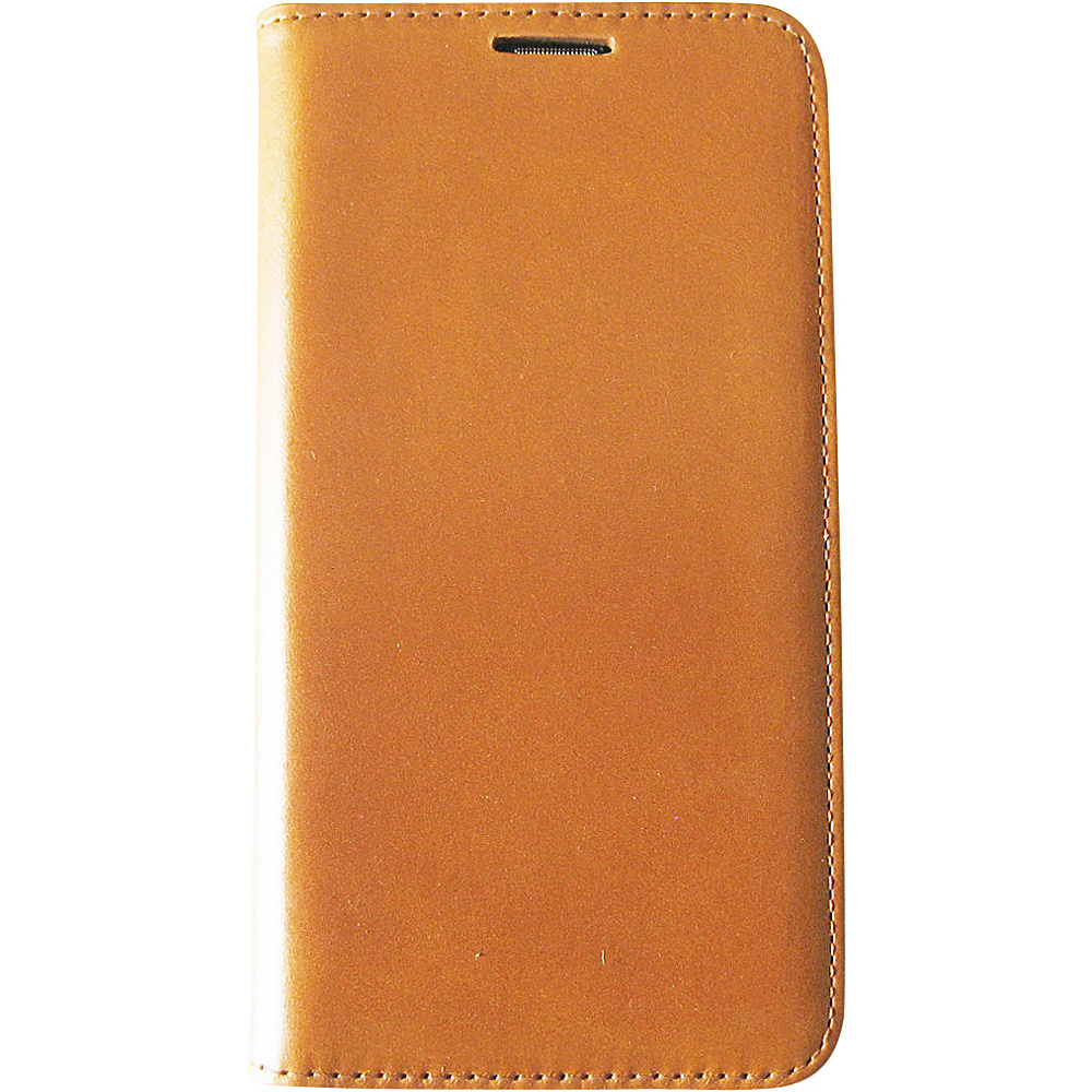 Tanners Avenue Samsung Galaxy S5 Leather Wallet Case Folio British Tan Tanners Avenue Electronic Cases