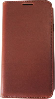 Tanners Avenue Samsung Galaxy S5 Leather Wallet Case Folio Chestnut - Tanners Avenue Electronic Cases