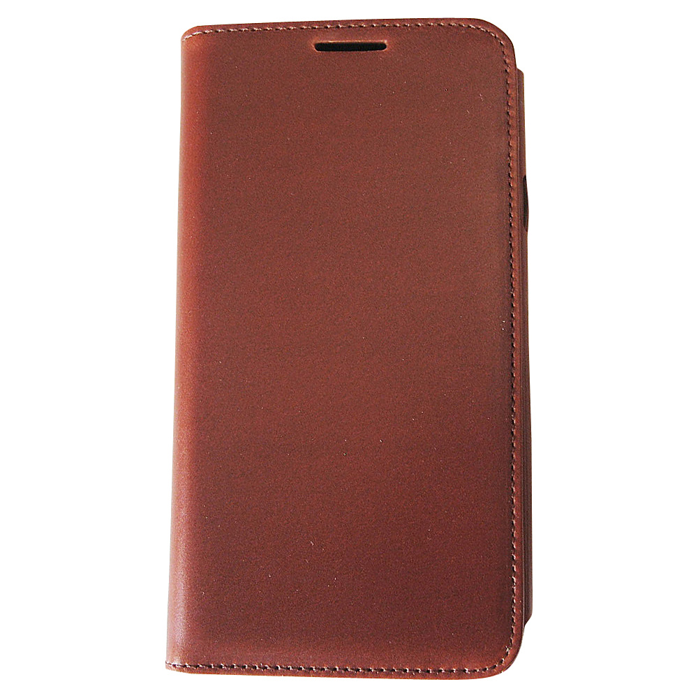 Tanners Avenue Samsung Galaxy S5 Leather Wallet Case Folio Chestnut Tanners Avenue Electronic Cases
