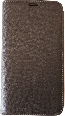 Tanners Avenue Samsung Galaxy S5 Leather Wallet Case Folio Tex Brown