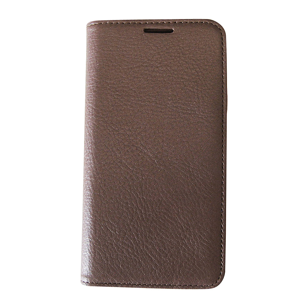 Tanners Avenue Samsung Galaxy S5 Leather Wallet Case Folio Brown Tan Interior Tanners Avenue Electronic Cases