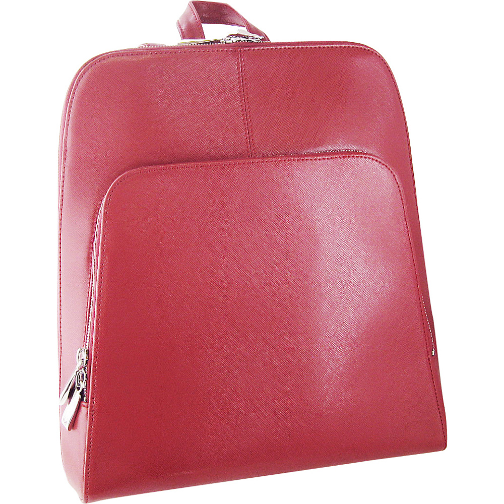Tanners Avenue Ladies Leather Backpack Red Tanners Avenue Leather Handbags