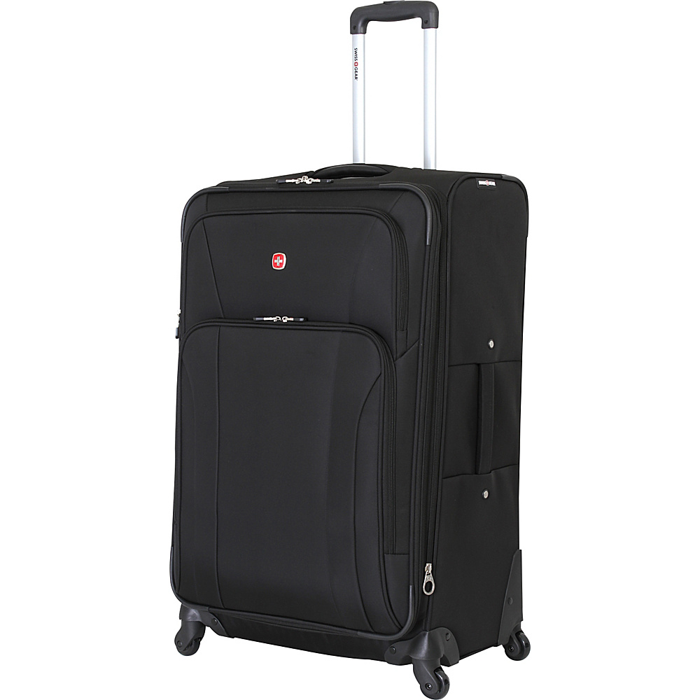 SwissGear Travel Gear 28 Spinner Black SwissGear Travel Gear Softside Checked