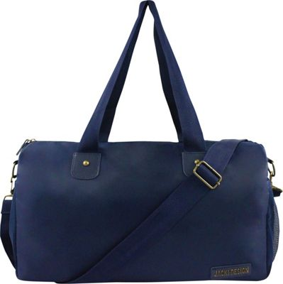 Jacki Design Men's Duffel Travel Bag Blue - Jacki Design Travel Duffels