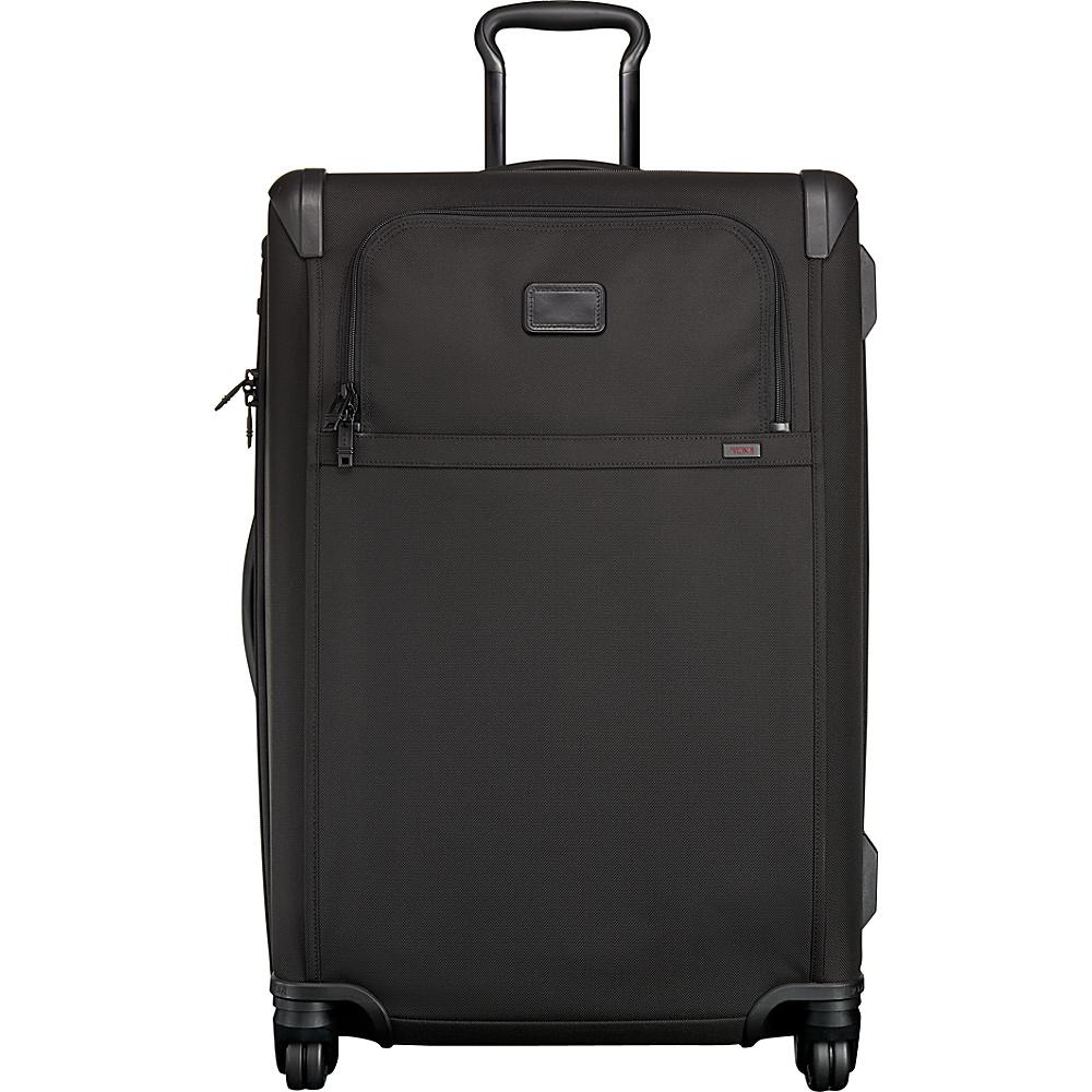 Tumi Alpha 2 Lightweight Medium Trip 4 Wheel Packing Case Black - Tumi Softside Checked