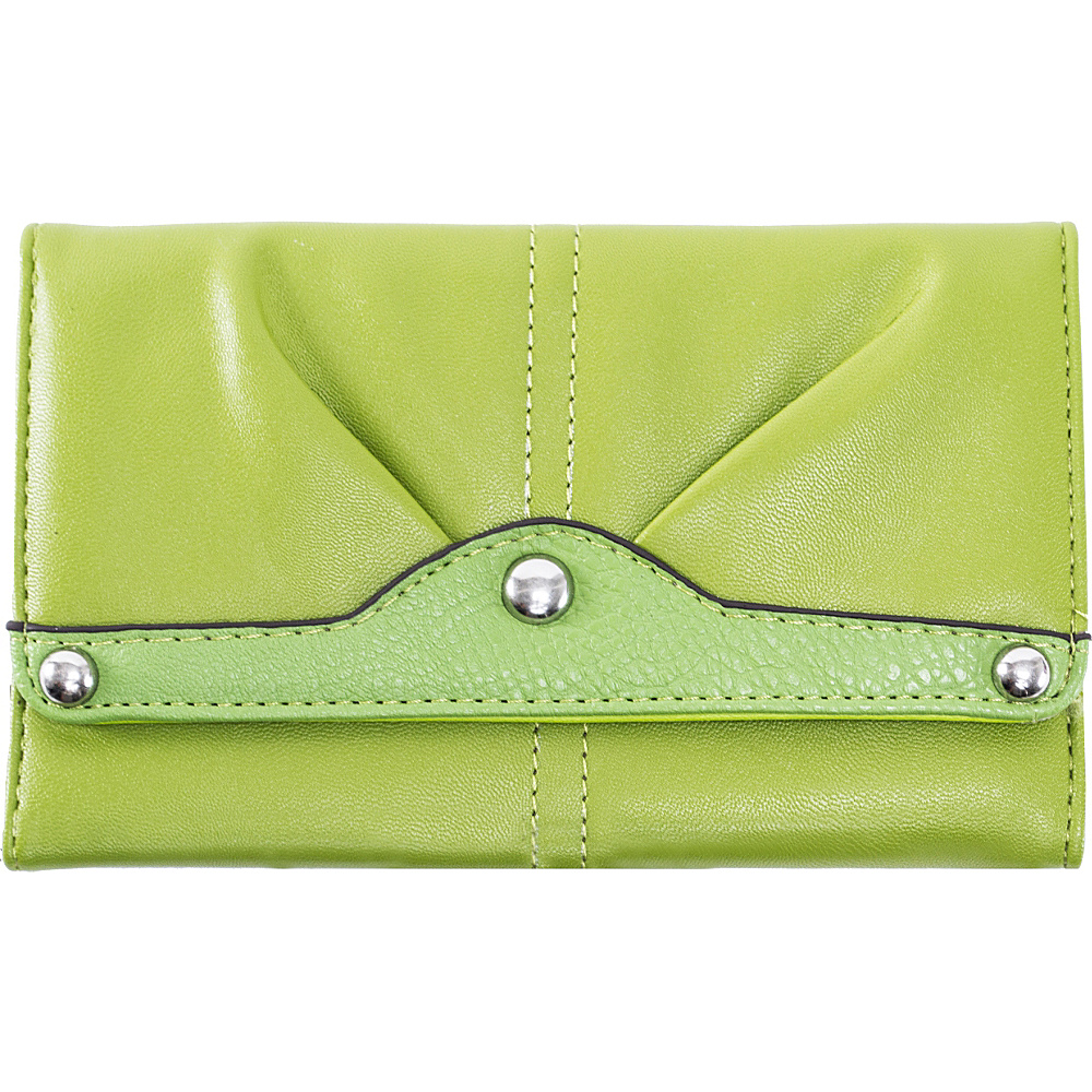 Parinda Eveline Wallet Green - Parinda Ladies Small Wallets