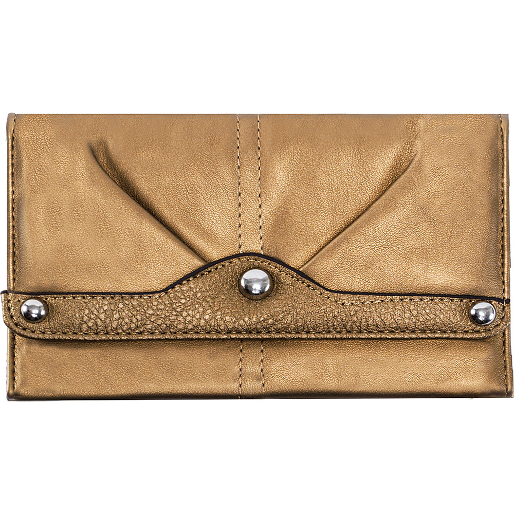 Parinda Eveline Wallet Bronze - Parinda Women's Wallets