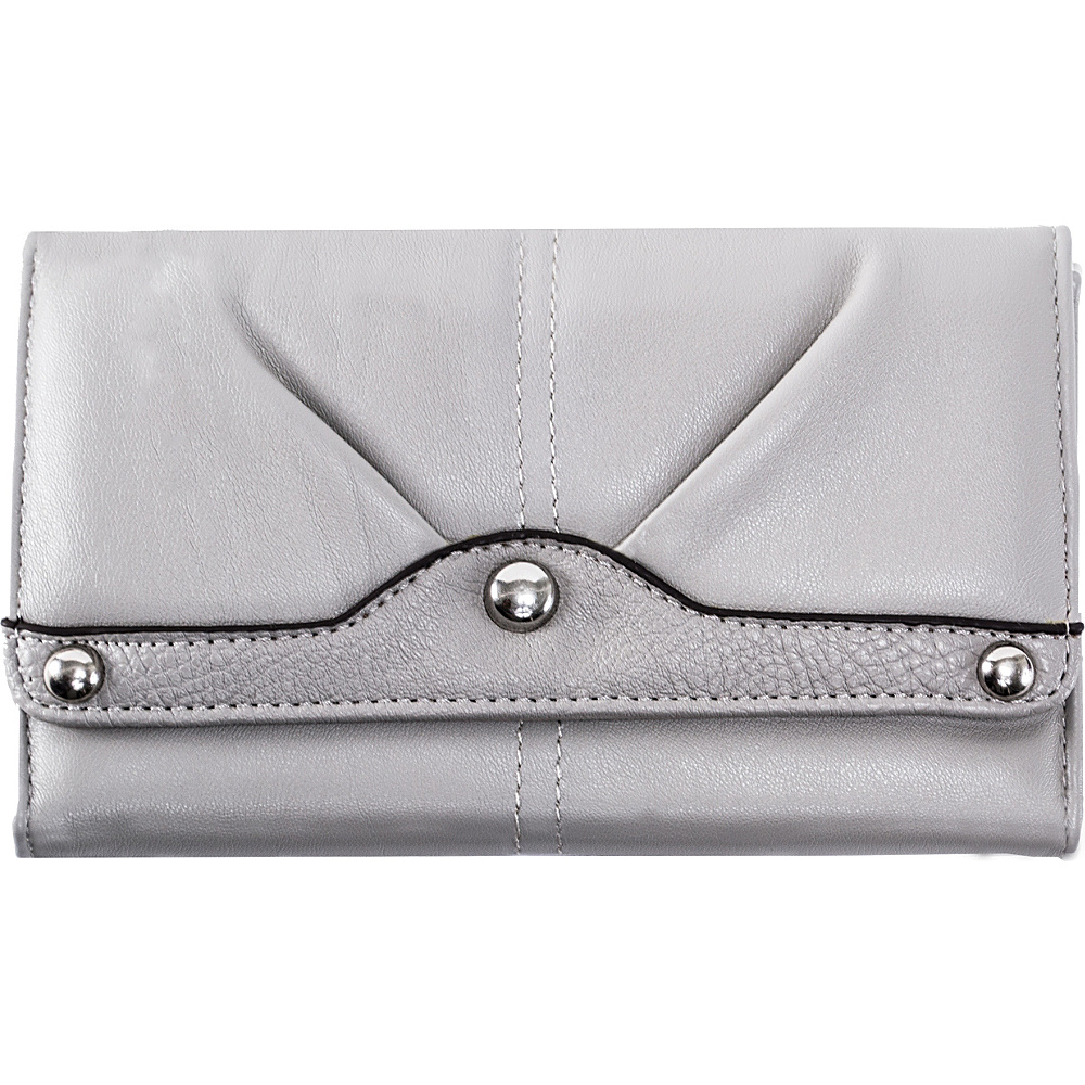 Parinda Eveline Wallet Grey - Parinda Ladies Small Wallets