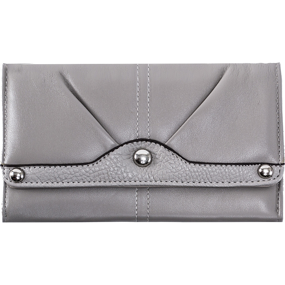 Parinda Eveline Wallet Pewter - Parinda Women's Wallets