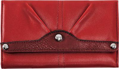 Parinda Eveline Wallet Red - Parinda Designer Handbags