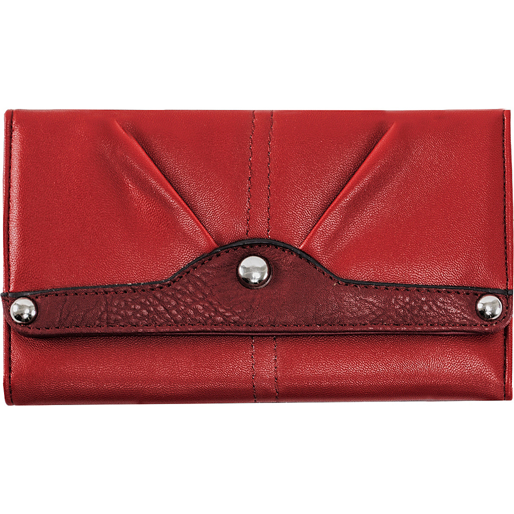 Parinda Eveline Wallet Red - Parinda Ladies Small Wallets