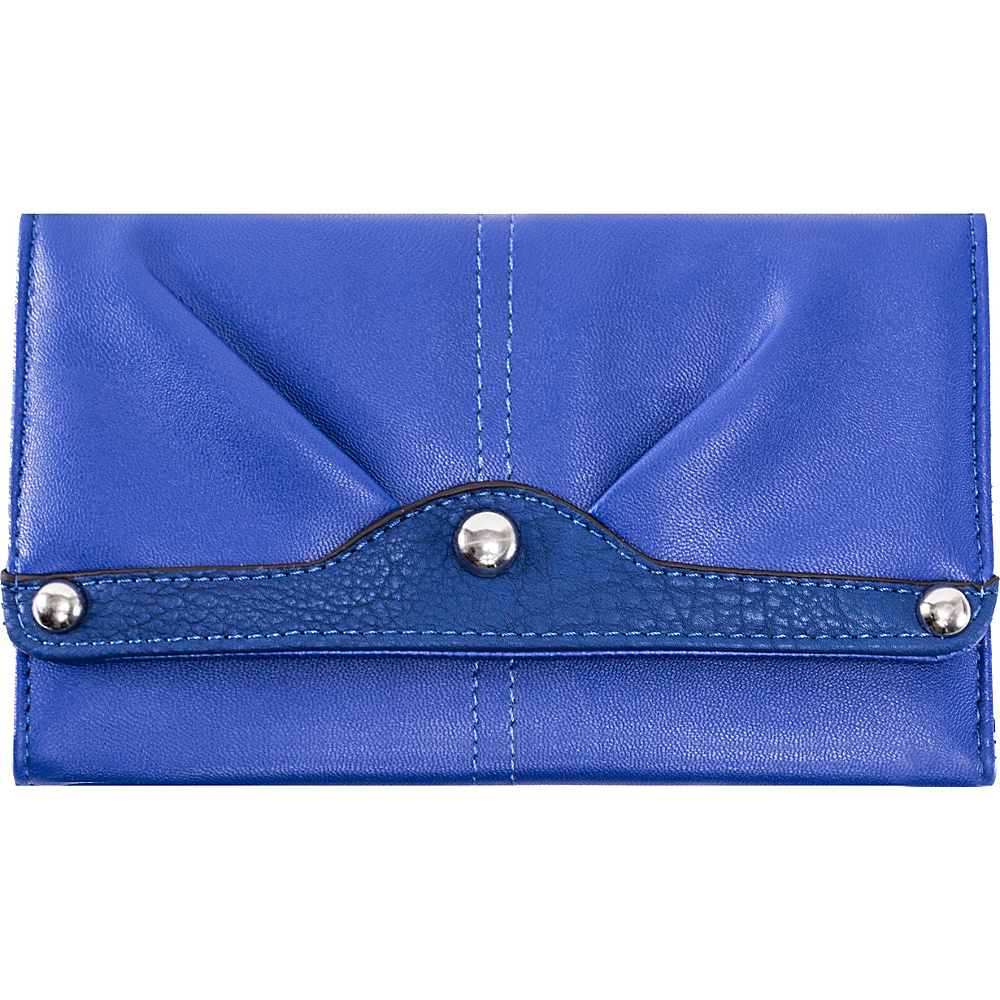 Parinda Eveline Wallet Blue - Parinda Women's Wallets
