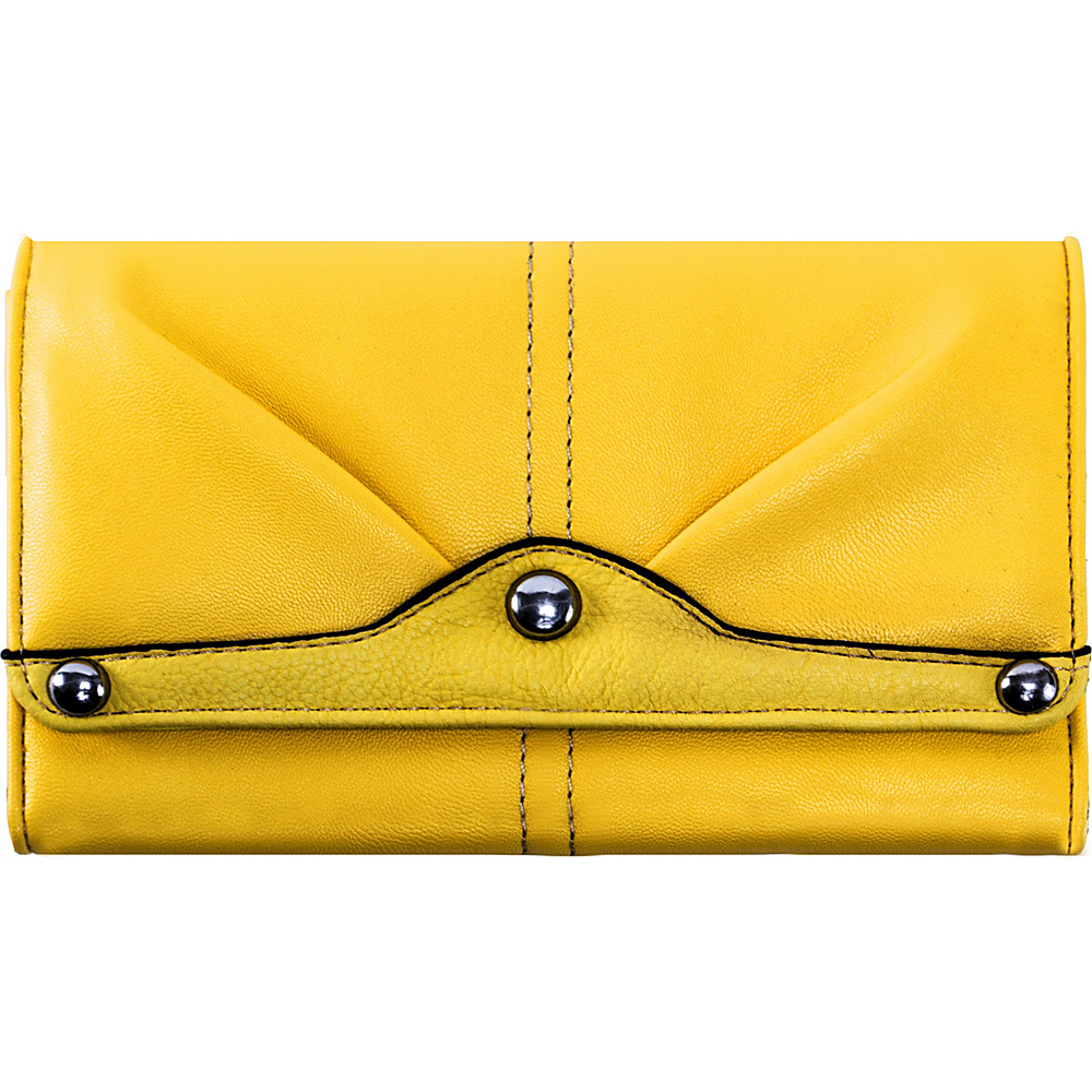 Parinda Eveline Wallet Yellow - Parinda Ladies Small Wallets