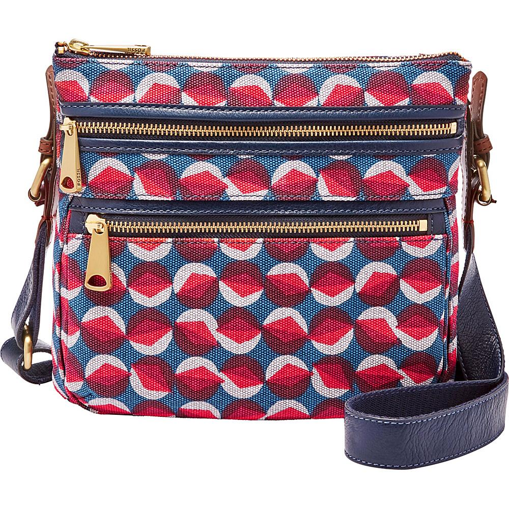 20584b1ca8 $154.99 More Details · Fossil Explorer Crossbody Red Multi - Fossil Fabric  Handbags