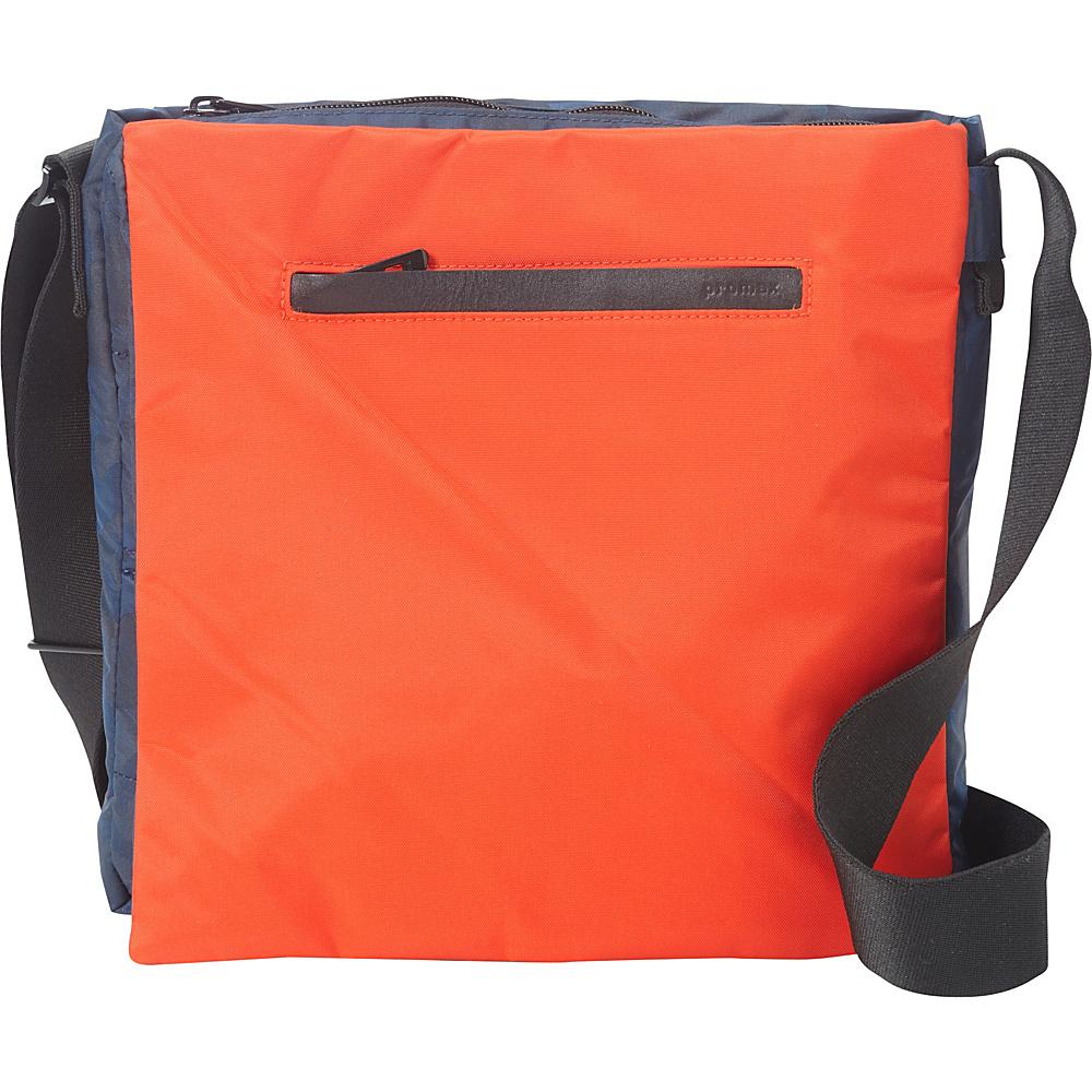 Promax Mode Vertical iPad Messenger Bag Blue - Promax Men's Bags