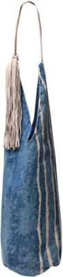Ale by Alessandra Paz Tote Blue/white - Ale by Alessandra Fabric Handbags
