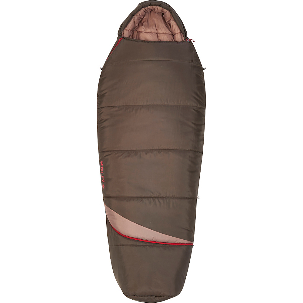 Kelty Tuck EX 20 Degree ThermaPro RH Sleeping Bag Mocha Regular Kelty Outdoor Accessories