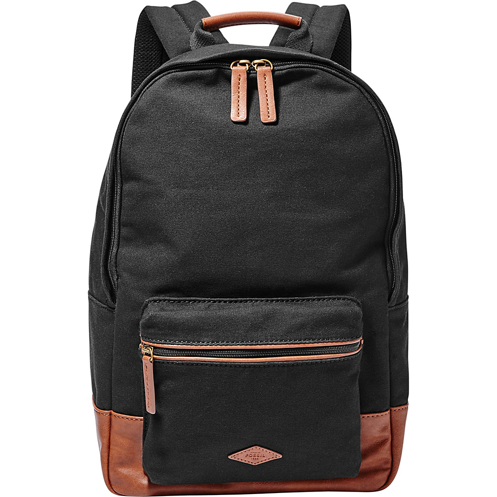 Fossil Estate Backpack Black - Fossil School & Day Hiking Backpacks - Backpacks, School & Day Hiking Backpacks