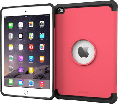rooCASE Apple iPad Mini 4 Case - Exec Tough Cover Pink - rooCASE Laptop Sleeves